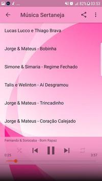 Música Sertaneja Sem internet 2019 imagem de tela 3