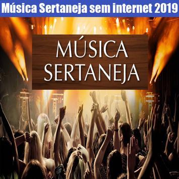 Música Sertaneja Sem internet 2019 Cartaz