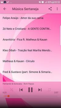 Música Sertaneja Sem internet 2019 imagem de tela 2