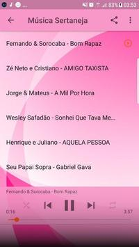 Música Sertaneja Sem internet 2019 imagem de tela 5