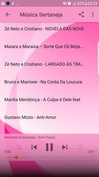 Música Sertaneja Sem internet 2019 imagem de tela 6