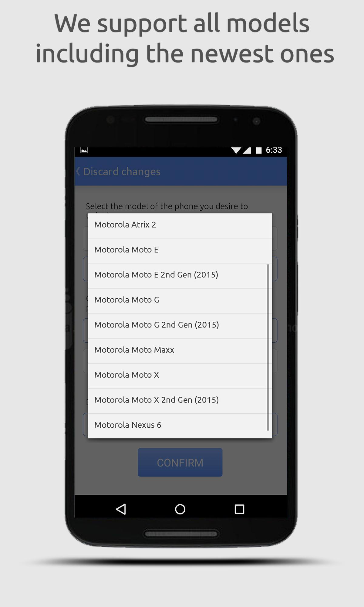 Motorola Moto E Secret Codes