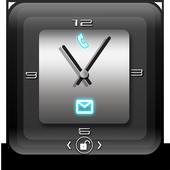 Crystal Clock Lock Theme icon