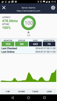 Uptime - Server Monitor apk screenshot