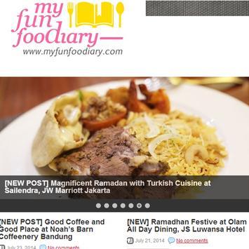 My Fun Food Diary poster