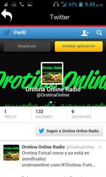 Orotina online screenshot 3