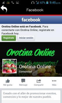 Orotina online screenshot 2