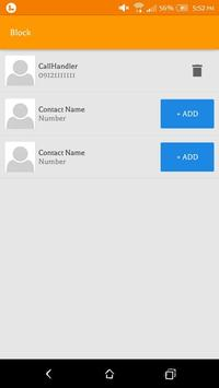 Call-Handler screenshot 2