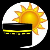 Sun Compass with Qibla angle icon