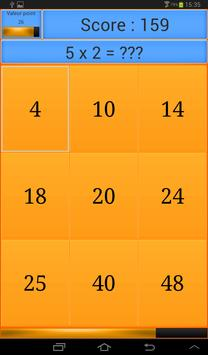 Multiplications screenshot 3