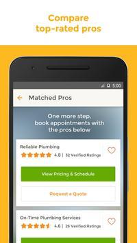 HomeAdvisor Home Contractors apk screenshot