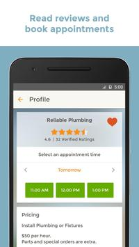 HomeAdvisor Home Contractors apk screenshot