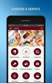 Hr Home Service screenshot 1