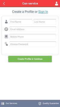 Can-service screenshot 2