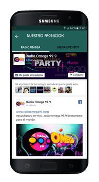 Radio Omega 99.9 FM screenshot 3