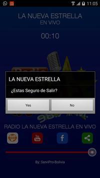 Radio La Nueva Estrella screenshot 3