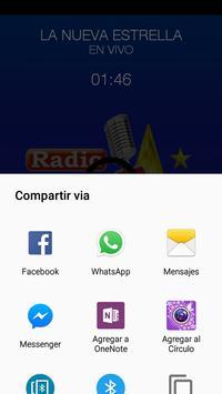 Radio La Nueva Estrella screenshot 2