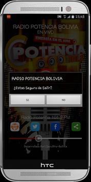 Radio Potencia Bolivia apk screenshot