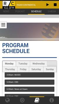Radio Continental 102.3FM ảnh chụp màn hình 3