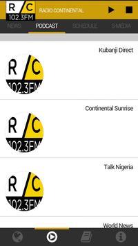 Radio Continental 102.3FM ảnh chụp màn hình 2