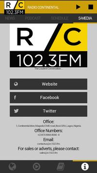 Radio Continental 102.3FM ảnh chụp màn hình 4
