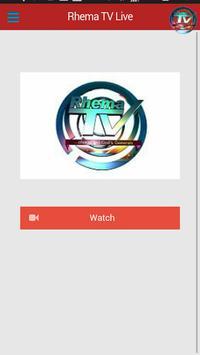 Rhema TV Nigeria apk screenshot