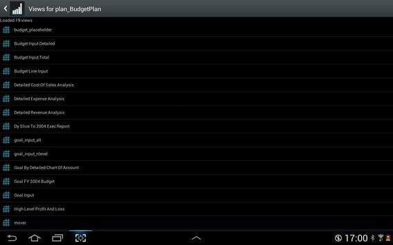 TM1app screenshot 14