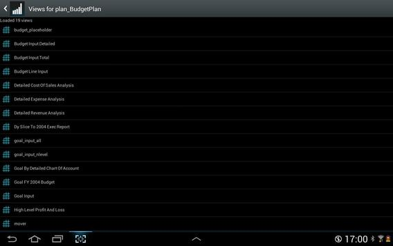 TM1app screenshot 10