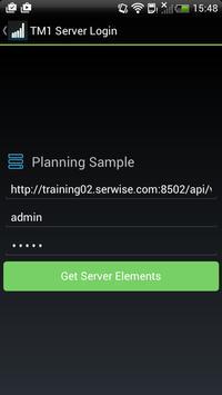TM1app screenshot 1