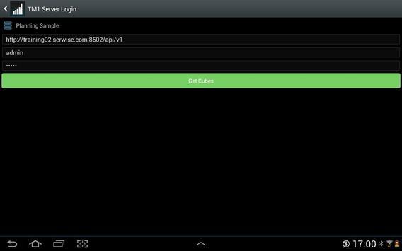 TM1app screenshot 9