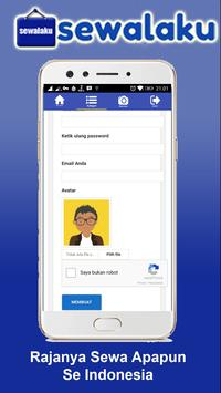 SEWALAKU -  kost - kontrakan - rental - sewa apk screenshot
