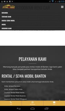 Sewa Mobil Banten screenshot 4