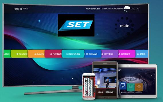SET TV Android Mobile Tablet V poster