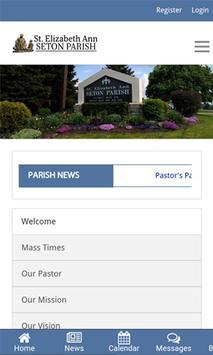 St. Elizabeth Ann Seton Parish poster