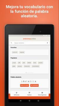 Diccionario Sinónimos Offline screenshot 16