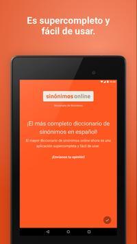 Diccionario Sinónimos Offline screenshot 17
