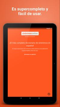 Diccionario Sinónimos Offline screenshot 11