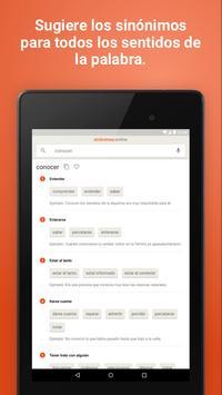 Diccionario Sinónimos Offline screenshot 13