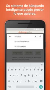 Diccionario Sinónimos Offline скриншот 2