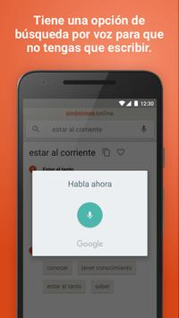 Diccionario Sinónimos Offline скриншот 3