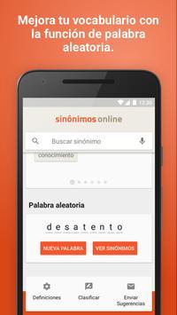 Diccionario Sinónimos Offline screenshot 4