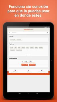 Diccionario Sinónimos Offline screenshot 6