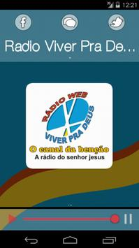 Radio Viver Pra Deus DF apk screenshot
