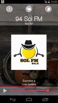 94 Sol FM poster