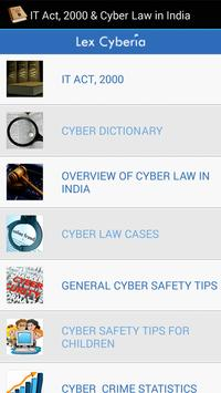 IT Act, 2000 & Cyber Law India poster