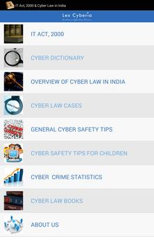 IT Act, 2000 & Cyber Law India screenshot 12