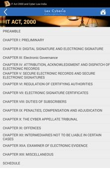 IT Act, 2000 & Cyber Law India screenshot 13