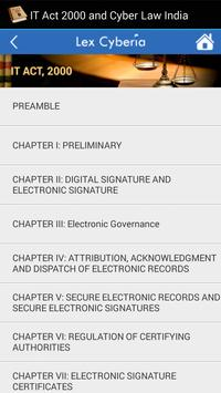 IT Act, 2000 & Cyber Law India screenshot 1