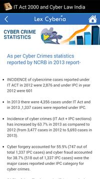 IT Act, 2000 & Cyber Law India screenshot 6