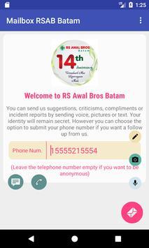 Kotak Surat RS Awal Bros Batam poster